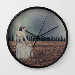 Tuscan lady Wall Clock