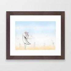 Scaredcrow Framed Art Print