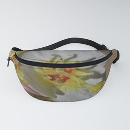 Smallest Desert Wildflower Blossoms by Reay of Light Photography Fanny Pack
