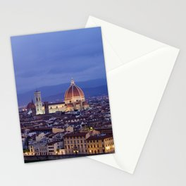 Florence Duomo At Night Stationery Cards