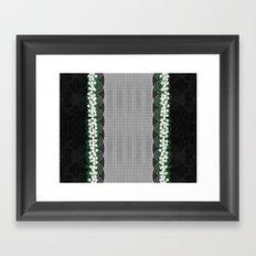 Wicker Basket Framed Art Print