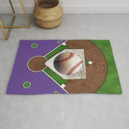 Baseball Field Rugs For Any Room Or