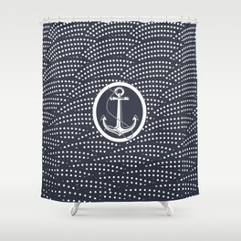The wind is never favorable to those who don't know where they're going Shower Curtain