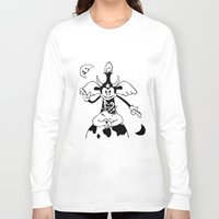 baphomet Long Sleeve T-shirts featuring Steamboat Baphomet by dankherbmullet