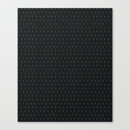 DOTTED VEE Canvas Print