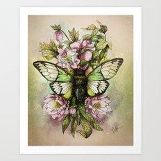 Cicada [The last summer chant]] Art Print