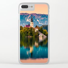 BLED 06 Clear iPhone Case