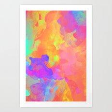 Just Paint Art Print