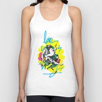 couple Tank Tops featuring Couple by Neurone