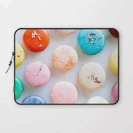 Colorful Macaroons Laptop Sleeve