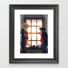 William and Theodore 32 Framed Art Print