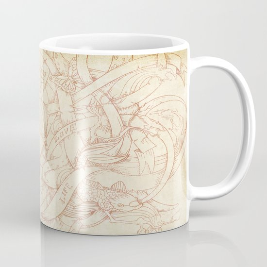 Abstract Nature | VACANCY zine | Mug