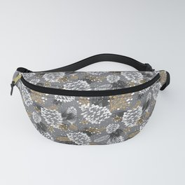 Festive Forest - Grey Fanny Pack