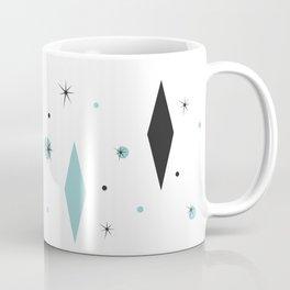 Vintage 1950s Mid Century Modern Design Coffee Mug