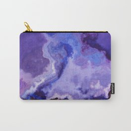 ultra violet marble Carry-All Pouch