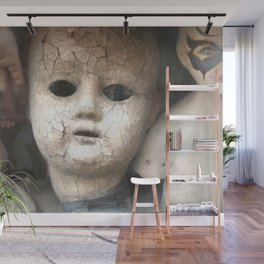 Old Dolls Wall Mural