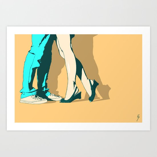 Pure Happiness Art Print