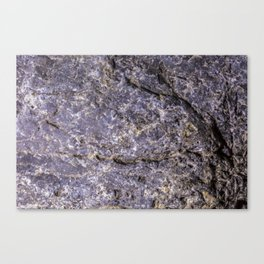 Lava Stone Texture Canvas Print