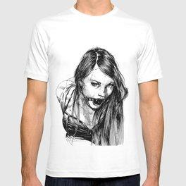 Ball Gagged Lady Portrait ©Yury Fadeev T-shirt