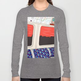 View from London Jubilee Line Long Sleeve T-shirt