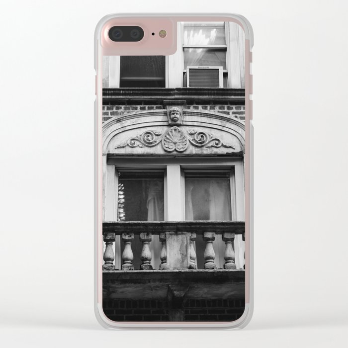 Soho XXIV Clear iPhone Case
