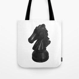 Knight Chess Piece polygon art Tote Bag