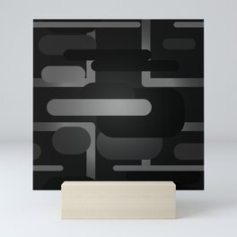 Mocha - Blackout Variant Mini Art Print