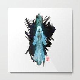 La Sorcière Bleue Metal Print