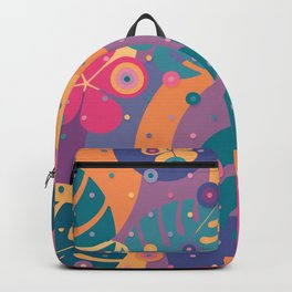 Tropical Dots Backpack