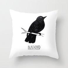 BLVCKBIRD - Blvckbird Throw Pillow