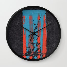 tattered remnants. Wall Clock