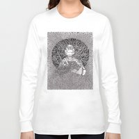ninja turtle Long Sleeve T-shirts featuring Ninja Turtle by OKAINA IMAGE