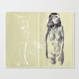 Chiguolf Canvas Print