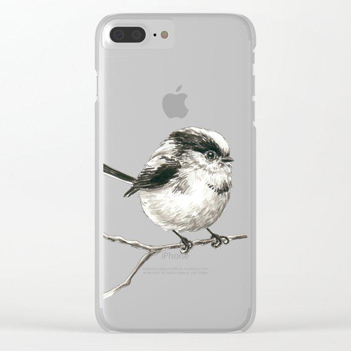 Tit bird Clear iPhone Case