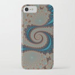 Royal Fabric - Fractal Art iPhone Case