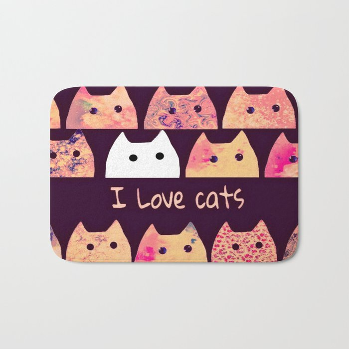 cat-199 Bath Mat