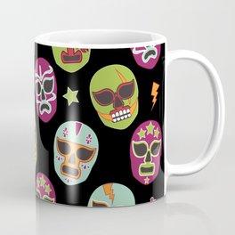 Máscaras (black background) Coffee Mug