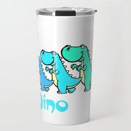 Team Dinosaur (Blues) Travel Mug