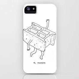 MISTER PARPAING iPhone Case