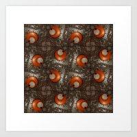 Salad Spinner Pattern Art Print