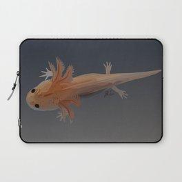 Axolotl Vector in Orange Laptop Sleeve