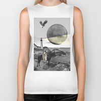 lighthouse Biker Tanks featuring Lighthouse by •ntpl•