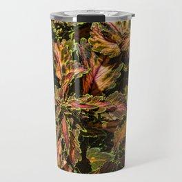 Coleus Foliage Travel Mug