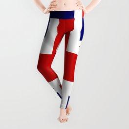 Union Jack Grunge Leggings