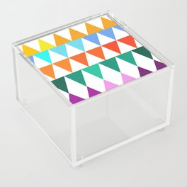 Triangles of Color Acrylic Box