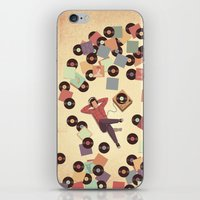 vinyl iPhone & iPod Skins featuring Vinyl by Davide Bonazzi