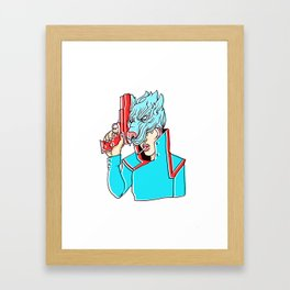 v o l f f  g i r l (2011) G H O U L Framed Art Print