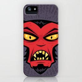 Mad Devil iPhone Case