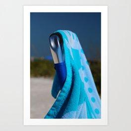 Beach Day- vertical Art Print
