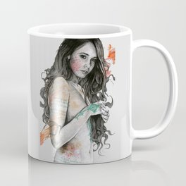 You Lied (nude girl with mandala tattoos) Coffee Mug